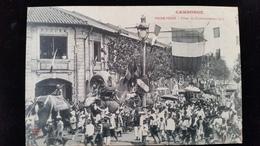 CPA  Cambodge, Phnom, Pnom Penh  Fetes Du Couronnement - Cambodia