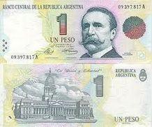 Billet Banque Argentine - 1 Peso - Argentinië