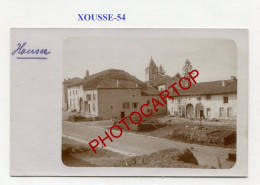 XOUSSE-CARTE PHOTO Allemande-Guerre 14-18-1 WK-FRANCE-54- - Altri Comuni