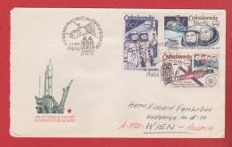 Tchécoslovaquie  --  Env  Praha 2-3-1979 - Cartas