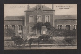 CAP: Dépt.27. SAUSSAY-la-VACHE . Mairie Et écoles . Animation . Attelage . - Autres Communes