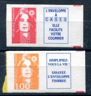 Marianne Du Bicentenaire - Lot Yvert 2807 A + 3009 A - Neufs Xxx - 1/4 Cote - T 432 - 1989-96 Maríanne Du Bicentenaire