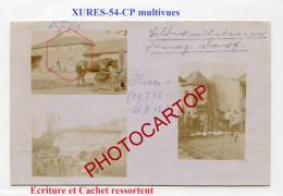 XURES-1915-Moulin-Abreuvoir-Elevage Volailles-CARTE PHOTO Allemande Multivues-Guerre 14-18-1 WK-FRANCE-54-Feldpost- - Autres Communes