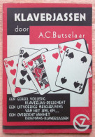 """""""Klaverjassen""""  Kaartspel Door A. C. Butselaar 1949 - Vieux Papiers"""