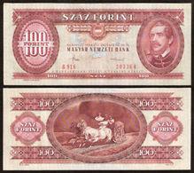 Billet Banque Hongrie - 100 Forint - 1989 - Hungary