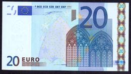Portugal, 20 Euro Duisenberg (U001 I2), In Kfr. / Unc., Sehr Selten...!!! - EURO