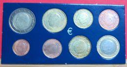 Belgien Verschiedene Jahrgänge Euro-Kursmünzensatz - Belgien