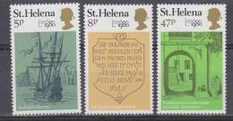 St Helena 1980 London 1980 3v ** Mnh (32651) - Sint-Helena