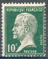 France - 1923/26 - Type Pasteur - Y&T N°170 ** Neuf Sans Charnière (gomme D´origine). - 1922-26 Pasteur