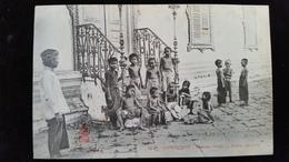 CPA  Cambodge, Phnom, Pnom Penh  Petits Enfants - Kambodscha