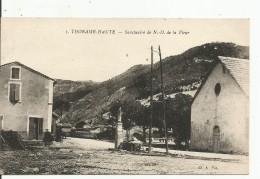 THORAME-HAUTE...BASSES ALPES....Sanctuaire De N.D. De La Fleur....animée - France