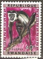 Rwanda 1964 SG 58 Overprints Mounted Mint - 1970-79: Neufs
