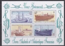TAAF 2001 Ships M/s ** Mnh (32652A) - Blokken & Velletjes