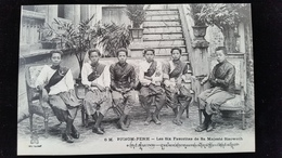 CPA  Cambodge, Phnom, Pnom Penh Les Six Favorites De Sa Majesté Sisowath - Cambodia