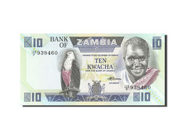 Zambie, 10 Kwacha, 1980-1986, KM:26e, Undated (1980-1988), NEUF - Zambie