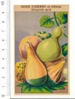 Chromo Légume / Courge D'agrément Coloquinte Varié / Ancienne étiquette Pour Sachet De Graines / Potager  // IM 1-299 - Vieux Papiers