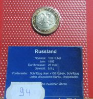 Rußland 100 Rubel 1992 - Russland