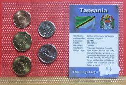 Tansania Münzsatz - Tansania