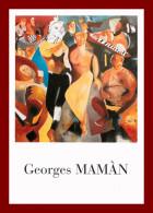 Cpm Thème Musée/exposition - Georges Mamàn - Galerie Vekava  à Paris    ( Scan Recto Et Verso ) - Museos