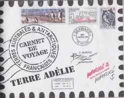 TAAF 2001 Carnet De Voyage ** Mnh (F5769) - Boekjes