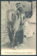 Indiens D'Amérique Nord  Village De Peaux Rouges Indien Flat Iron - Indiani Dell'America Del Nord