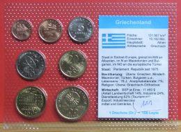 Griechenland Münzsatz - Griechenland