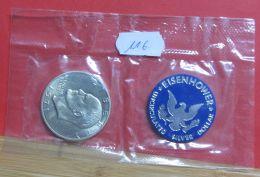 USA Silber Dollar Eisenhower - 1971-1978: Eisenhower