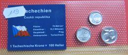 Tschechien Münzsatz - Tschechische Rep.
