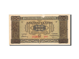 Grèce, 100 Drachmai, 1941, 1941-07-10, KM:116a, TTB - Griekenland