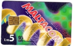 Malta - Malte - Maltacom 3 - Cable - LM 5 - Malta