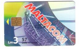 Malta - Malte - Maltacom  - Satellite - Satellitenschüssel - LM 3