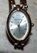 BELLE MONTRE FEMME PIERRE LANNIER 106 B7 BRACELET BICOLORE METAL COMME NEUVE - Watches: Old