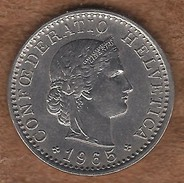 Switzerland Federal Coins: 20 Centimes, Years 1965 - Suiza