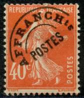 France Préos (1922) N 64 * (charniere) - Préoblitérés