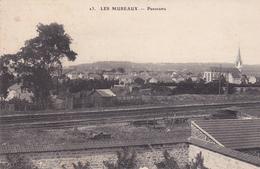 78. LES MUREAUX. CPA. PANORAMA.  AFFRANCHIE ANNÉE 1910 - Les Mureaux