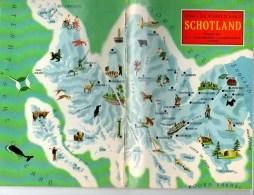 Plakboek Uitg. Oliefabrieken VANDEMOORTELE  21 Stuks  Uitleg   Verschillende Landen Boekjes Volledig    Afm. 21x14.5cm - Géographie