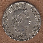 Switzerland Federal Coins: 10 Centimes, Years 1913 - Suiza
