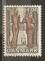Danemark Denmark 2002 Statue Obl - Oblitérés