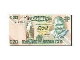 Zambie, 20 Kwacha, 1980-1986, KM:27e, Undated (1980-1988), NEUF - Zambie