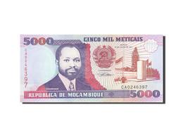 Mozambique, 5000 Meticais, 1991-1993, KM:136, 1991-06-16, NEUF - Mozambique