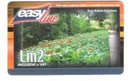 Malta - Malte - Easyline - Prepaid Card - San Anton Gardens - Malta