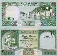 Billet Banque Yemen - 200 Rials - Yémen
