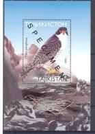 2001. Tajikistan, Bird Of Prey, S/s, SPECIMEN, Mint/** - Tadschikistan