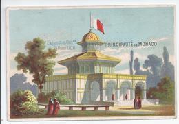 Chromo Exposition Universelle De Paris 1878 - Principaute De Monaco - R5042 - Autres