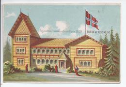 Chromo Exposition Universelle De Paris 1878 - Suede Et Norvege - R5041 - Autres