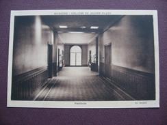 CPA SEPIA 02 SOISSONS COLLEGE De JEUNES FILLES Vestibule ECOLE CLASSE MATERIEL - Soissons