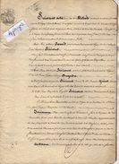 VP5662 - CHELLES - Acte De 1853 - Donation & Partage Par Mme Vve HERICOURT à LAGNY à Ses Enfants - Manuscripts