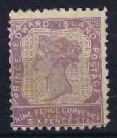 Canada: Prince Edward Island 1869 SG 26 Not Used (*) SG - Prince Edward Island