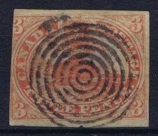 Canada: 1852 SG Nr 6 Used - Oblitérés