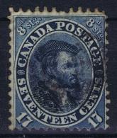 Canada: 1859  SG Nr 43a Used  Indigo - Oblitérés